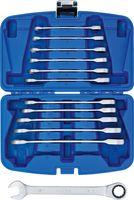 BGS Ratschenring-Maulschlüssel 8-19 mm Ratschenschlüssel