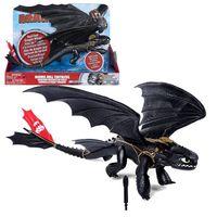 Dragons -  Drachen  Ohnezahn mit  Licht & Sound 44 cm