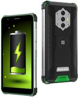 Blackview BV6600 Outdoor Smartphone Ohne Vertrag, 8580mAh Akku Outdoor Handy, 16M+8MP Kamera, 4GB + 64GB, 4G Dual SIM, Android 10 5,7 Zoll Robustes Handy, NFC/Face ID/OTG/IP68/GPS(Green)