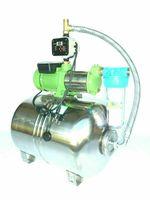 Hauswasserwerk 7,8 Bar mit 100 L Edelstahl Kessel + 2100 Watt Kreiselpumpe + vollaut. Pumpensteuerung + Vorfilter