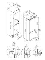 Amica EKGC 16178 - 246 l - N-ST - 3 kg/24h -  - Frischhaltebereich - Weiß