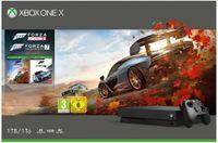 Microsoft Xbox One X 1TB schwarz inkl. Forza Horizon 4 & Forza 7