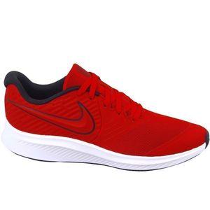 Nike Kinder Halbschuhe Sportschuhe Textil rot 39