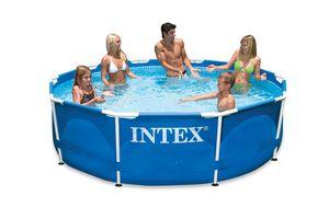 Steinbach 128212 Frame Pool Set Rondo Ii 366 X 76 Cm Kartuschenfilter 2.006 L/H
