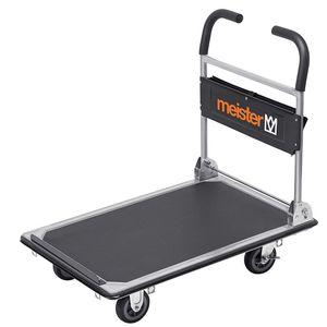 Meister Werkzeuge Plattformwagen cut-off 300kg, 8985630