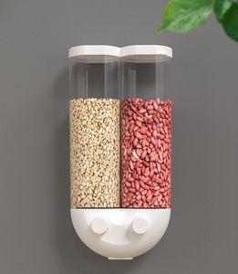 Müsli-Spender Behälter Vorratsdose Keeper Körner Versiegelt Dosen verdeckt Getreide Behälter