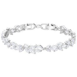 Swarovski 5419244 Armband Damen Louison Weiss Silber-Ton