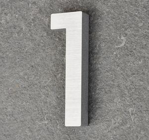 Hausnummer Haustürnummer Aluminium Scala Nr. 1