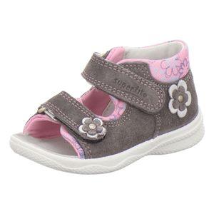 superfit Kinder klassische Sandalen Grau Schuhe, Größe:21