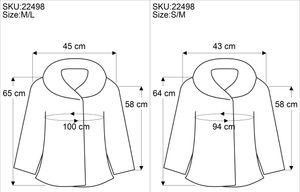 Patchwork Stonewash Regenbogen Jacke mit Zipfelkapuze, Goa Jacke - Modell 3, Damen, Rot, Baumwolle, Größe: M/L