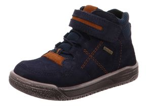 Superfit Kinder Stiefel & Boots Outdoor Lederkombination blau 27