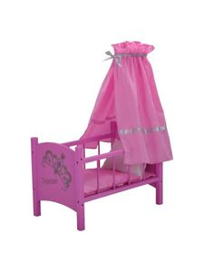Puppenhimmelbett, Design Diadem, pink