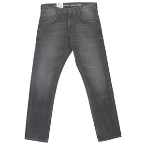 17623 Mustang, Chicago Tapered Comf,  Herren Jeans Hose, Denim, grey used, W 34 L 34