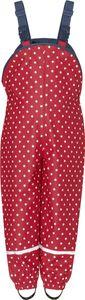 Playshoes Regenlatzhose mit Punkten Gr. 104 rot