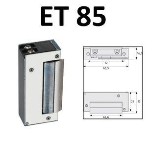 ABUS Elektrischer Türöffner ET 70/75/80/85 12V AC Elektro Schloss elektrisch Öffner Sicherheitstür ET85 EK