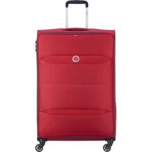 Delsey Easy Trip, Karre, Rot, Groß, Polyester, 4 Rad/Räder, 360°