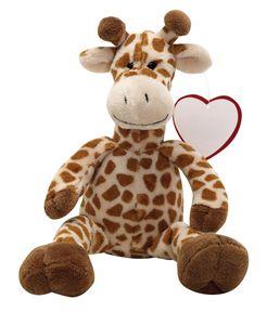 Plüschtier Kuschelig weich Stofftier Kuscheltier Plüsch Giraffe Maurice ca. 27 cm BWI