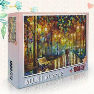 1000 Teile Kinder Puzzles Fantasy Jigsaw Spielzeug 38CM X 26CM Klassische Puzzles Gehen Sie im Regen