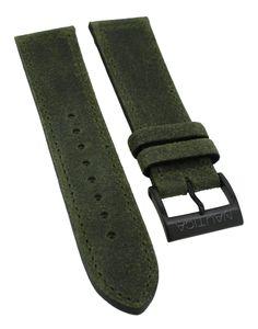 Nautica Chronograph Herren A18719G > Uhrenarmband 22mm Leder > grün