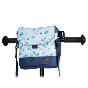BAMBINIWELT Lenkertasche Tasche für Puky für Woom Laufrad Räder Roller Fahrrad Fahrradtasche für Kinder wasserabweisend mit Schultergurt, Modell 28