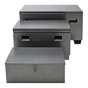 Metallkiste Werkzeugkiste Werkzeugbox Werkzeug Aufbewahrung Kiste Box Set 3tlg