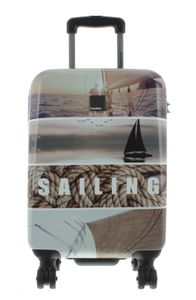 Saxoline Blue Koffer Spinner mit Zahlenschloss Gr. S, 55 cm, Sailing