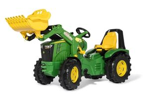 Rolly Toys 651047 RollyX-Trac Premium John Deere 8400R Tractor met Lader.