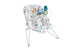 Fisher-Price Basis Babywippe mit Vibration und Spielbügel, moderne Baby-Ausstattung