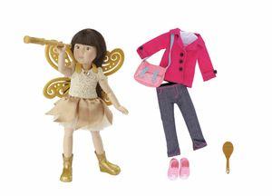 Käthe Kruse cruselings Luna deluxe Puppen-Set rosa