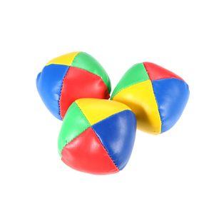 3 Stuecke Mini Jonglierball Set Klassische Sitzsack Kissen Baelle Kinder Weiche Stress Relief Spielzeug Geschenk