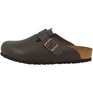 BIRKENSTOCK Boston Damen Clogs Dunkelbraun Schuhe, Größe:38