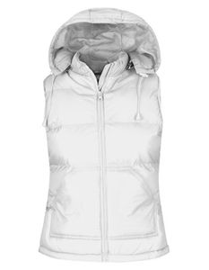 B&C Ladies Bodywarmer Damen Weste - JW935, Größe:L, Farbe:Weiß