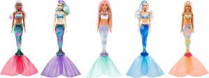 Mattel GVK12 Barbie Color Reveal Puppen ''Meerjungfrauen'' Welle 4, sortiert