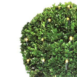 LED-Lichternetz für Buchsbaumkugeln L 120 cm