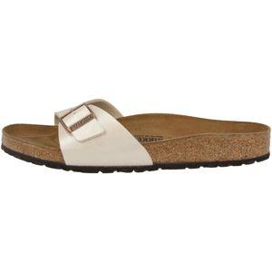 BIRKENSTOCK Madrid Damen Sandale Beige Schuhe, Größe:39