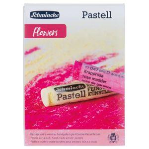 Schmincke Flowers Set 9 Pastellkreiden Pastell Malkasten Pastellstifte 77 762 097