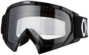 O'Neal B-10 Goggles Kinder solid black/white