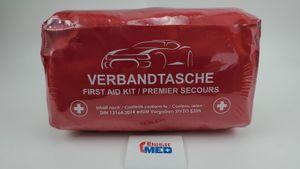 Verbandtasche Verbandstasche Erste-Hilfe Verbandskasten PKW DIN13164 ROT