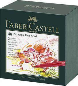 FABER-CASTELL Tuschestift PITT artist pen 48er Atelierbox