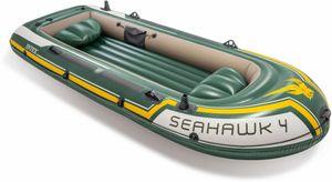 Boot 'Seahawk 4' SET inkl. Alu-Paddel + Pumpe #68614, bis 480kg, Motor bis 1,5PS, 351x145x48cm