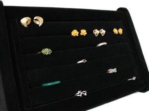 Ringaufsteller Ringständer Ringhalter stabile Ausführung schräg