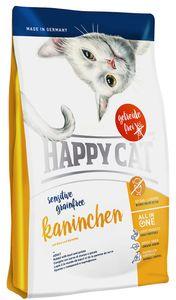 HAPPY CAT Sensitive Grainfree Kaninchen 2 x 4 kg