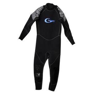 5mm dick Neopren Männer Neoprenanzug für Tauchen Surfen Unterwasserjagd XL Schwarz