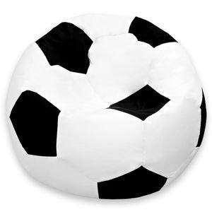 Luxury Fußball Sitzsack hochwertiges Fussballsitzkissen aus der Comfortline groß original Lumaland