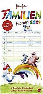Helme Heine Familienplaner - Kalender 2021