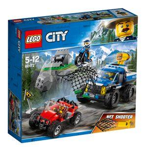 LEGO® City Verfolgungsjagd auf Schotterpisten, 60172