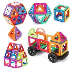 105x Blocks Magnetic Building Kinder Spielzeug Magnetische Bausteine Blöcke Teiliger Lernspielzeug  für Kinder Lernspielzeug Spiel