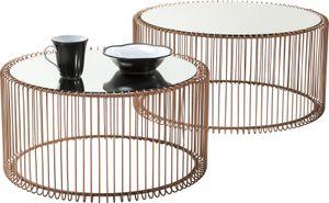 Couchtisch Wire Copper (2/Set)