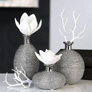 Casablanca Vase 3er Set Miro Keramik 15728