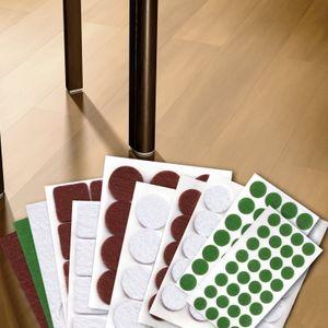Wenko 151 Teile Filzgleiter Möbelgleiter Möbelschutz Bodenschutz Parkett Gleiter